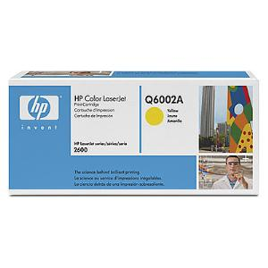 124A YELLOW LASERJET TONER CARTRIDGE Q6002A
