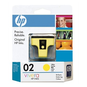 02 YELLOW INK CARTRIDGE C8773WA