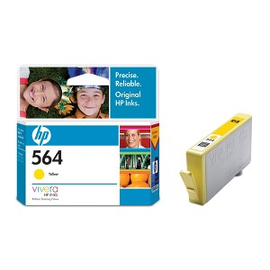 HP 564 YELLOW INK CB320WA