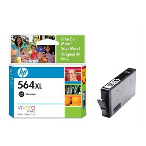 564XL PHOTO BLACK INK CARTRIDGE CB322WA