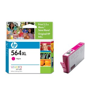 HP 564XL HIGH YIELD MAGENTA INK CB324WA
