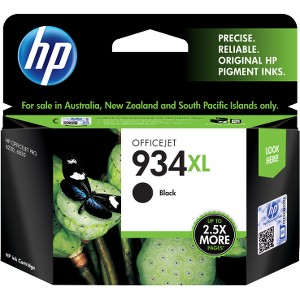 934XL BLACK INK CARTRIDGE C2P23AA