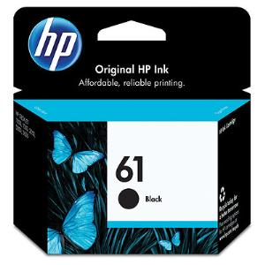 No 61 Black Inkjet Print Cartridge