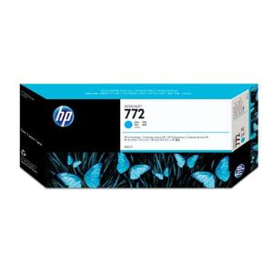 HP 772 300ml Cyan Ink Cartridge