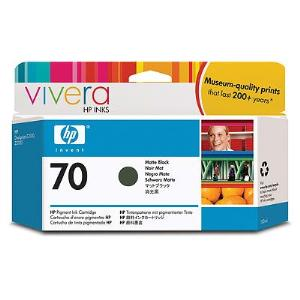 HP 70 130ml Matte Black Ink Cartridge