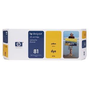 81 680ml Yellow Dye Ink Cart C4933A