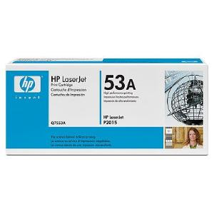 53A BLACK LASERJET TONER CARTRIDGE Q7553A