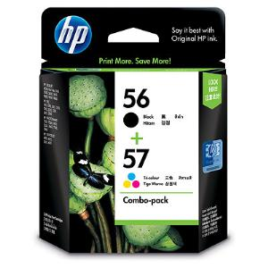 56/57 COMBO PACK INK CARTRIDGE CC629AA