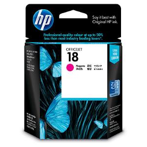 18 MAGENTA INK CARTRIDGE C4938A