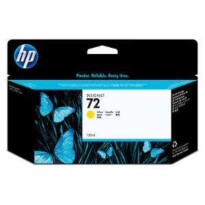 HP 72 130ml Yellow Ink Cartridge