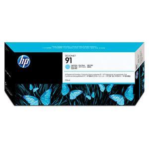 HP 91 775ML LIGHT CYAN INK CARTRIDGE