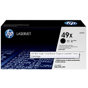 49X BLACK LASERJET TONER CARTRIDGE Q5949X