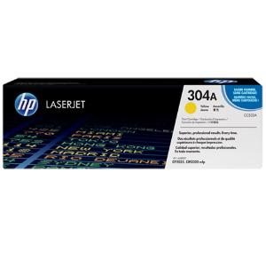 304A YELLOW LASERJET TONER CARTRIDGE CC532A