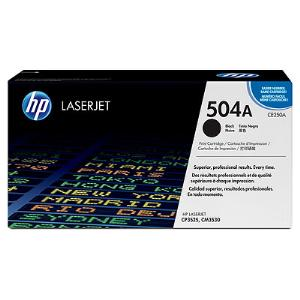 504A BLACK LASERJET TONER CARTRIDGE CE250A