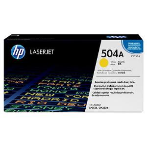 504A YELLOW LASERJET TONER CARTRIDGE CE252A