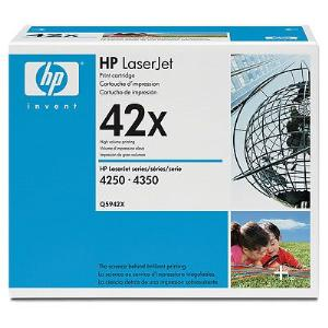 42X BLACK HIGH YIELD LASERJET TONER CARTRIDGE Q5942X