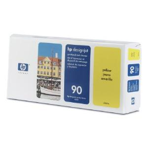 HP 90 Yellow Printhead and Cleaner