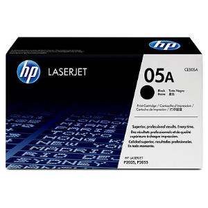 05A BLACK LASERJET TONER CARTRIDGE CE505A
