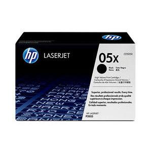 05X BLACK HIGH YIELD LASERJET TONER CARTRIDGE CE505X