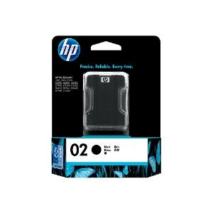 02 BLACK INK CARTRIDGE C8721WA