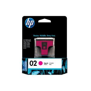 02 MAGENTA INK CARTRIDGE C8772WA