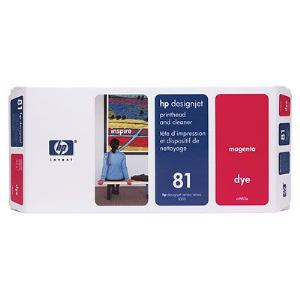 81 Magenta Dye Printhead and Cleaner C4952A