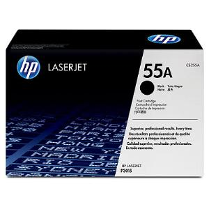 55A BLACK LASERJET TONER CARTRIDGE CE255A