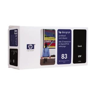 83 UV Black Printhead and Cleaner C4960A