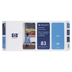 83 UV Cyan Printhead and Cleaner C4961A