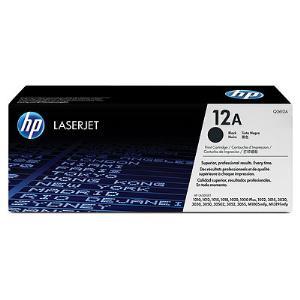 12A BLACK LASERJET TONER CARTRIDGE Q2612A