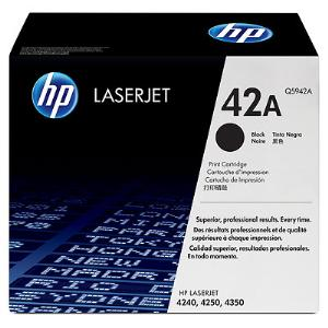 42A BLACK LASERJET TONER CARTRIDGE Q5942A