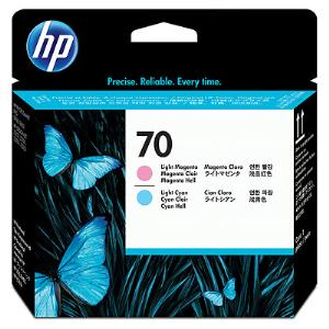 HP 70 LT Cyan and LT Magenta Printhead