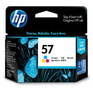 57 TRI-COLOR INK CARTRIDGE C6657AA