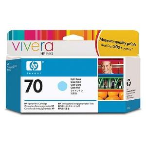 HP 70 130ml Light Cyan Ink Cartridge