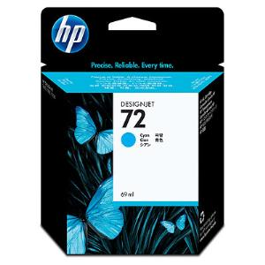 HP 72 69ml Cyan Ink Cartridge