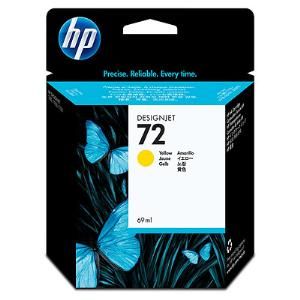 HP 72 69ml Yellow Ink Cartridge