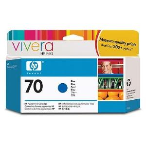 HP 70 130ml Blue Ink Cartridge