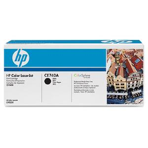 307A BLACK LASERJET TONER CARTRIDGE CE740A