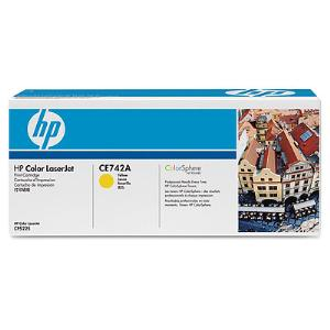 307A YELLOW LASERJET TONER CARTRIDGE CE742A