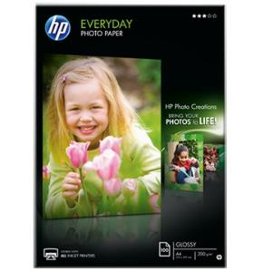 Q2510A EVERYDAY GLOSSY PHOTO PAPER A4 PK100