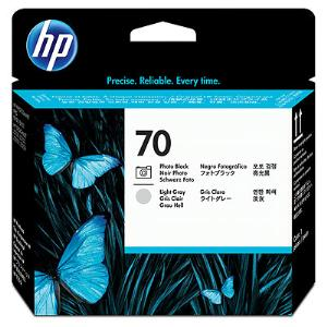 HP 70 Photo Black and LT Grey Printhead