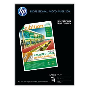 HP PROF LASER PAPER GLOSSY A4 200GSM PK100