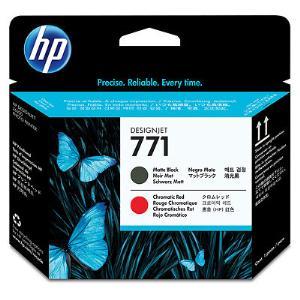 HP 771 Mte Bk/Chromatic Red Printhead