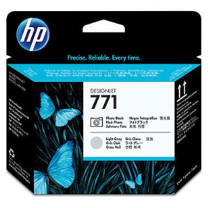 HP 771 Photo Black/Lt Gray Printhead