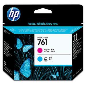 HP 761 Magenta/Cyan Inkjet Printhead