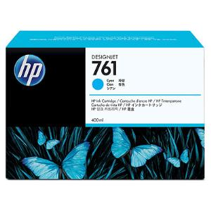 HP 761 400ml Cyan Ink Cartridge