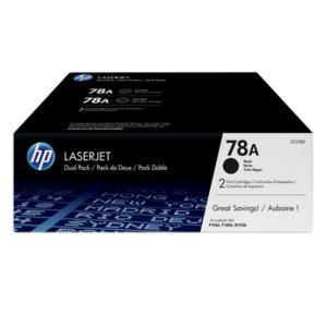 78A BLACK TWIN-PACK LASERJET TONER CARTRIDGE CE278AD