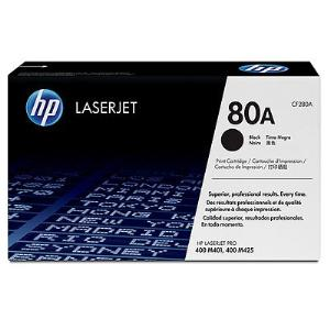 80A BLACK LASERJET TONER CARTRIDGE CF280A