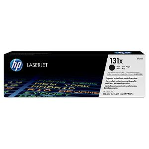 131X BLACK HIGH YIELD LASERJET TONER CARTRIDGE CF210X