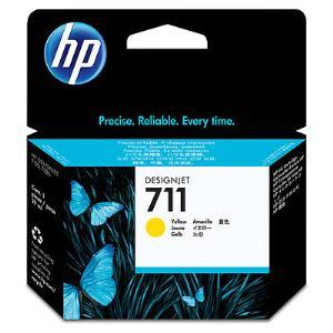 HP 711 29ml Yellow Ink Cartridge